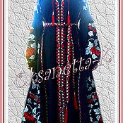 Одежда handmade. Livemaster - original item Dress embroidered . Boho Style Bohemian. 2016. Handmade.