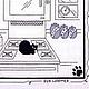 Животные ручной работы. Ярмарка Мастеров - ручная работа. Купить Кошачья радость. Handmade. Черный, черный кот, Вышивка крестом