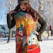 Одежда handmade. Livemaster - original item vests: Vest felted