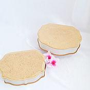 Материалы для творчества handmade. Livemaster - original item Blanks for decoupage and painting: MDF boxes of 2 types. Handmade.