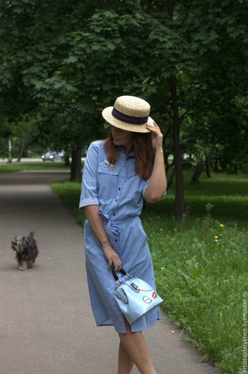 Shirt dress with pockets, Dresses, Ramenskoye,  Фото №1