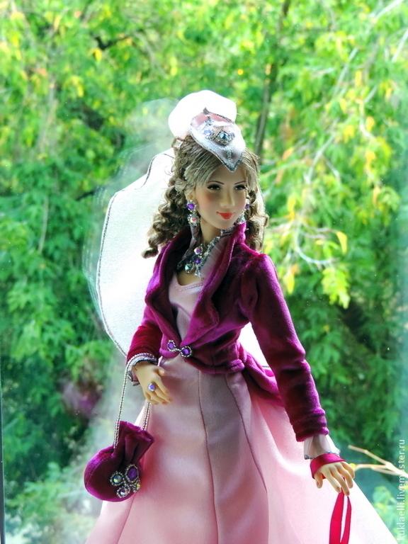 Дама с собачкой, Куклы и пупсы, Екатеринбург,  Фото №1