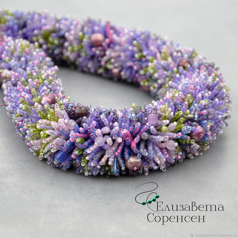 Charming lavender, Necklace, Copenhagen,  Фото №1