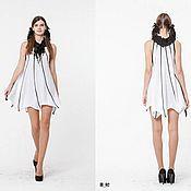 Одежда ручной работы. Ярмарка Мастеров - ручная работа BB_042 Платье «Летучая мышь» с американской проймой. Handmade.