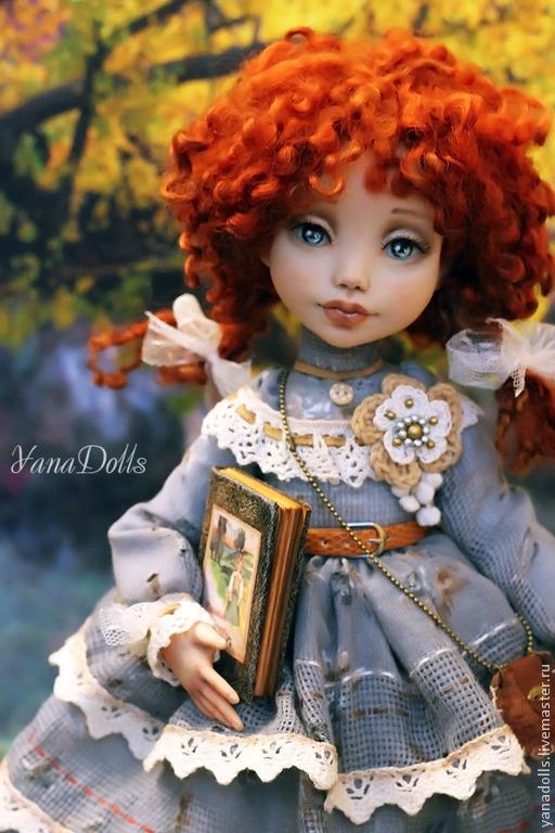 Коллекционные куклы ручной работы. Ярмарка Мастеров - ручная работа. Купить Дженни. Handmade. Рыжий, куклы и игрушки, Овечьи кудри