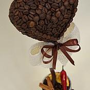 Подарки к праздникам ручной работы. Ярмарка Мастеров - ручная работа Кофейное дерево большое сердце. Handmade.