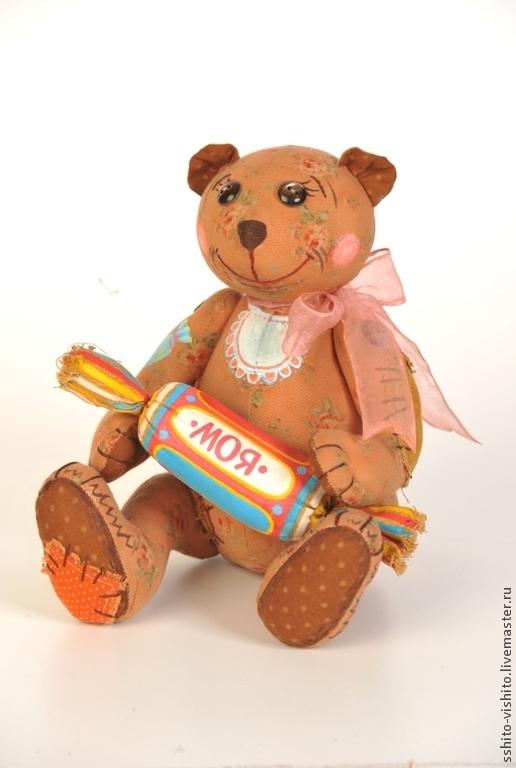 Куклы и игрушки ручной работы. Ярмарка Мастеров - ручная работа. Купить Набор для шитья игрушки Мишка - Сладкоежка. Handmade. Бежевый