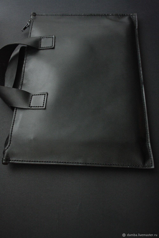 Папка портфель  DAMBA черная