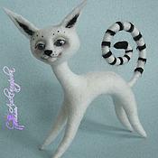 Куклы и игрушки ручной работы. Ярмарка Мастеров - ручная работа Кошка дух - Запах зимы. Handmade.