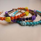"Украшения handmade. Livemaster - original item Set of rims for hair ""Changeable mood"". Handmade."