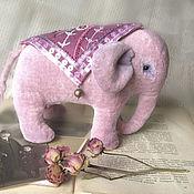 Куклы и игрушки handmade. Livemaster - original item Elephant in antique style. Handmade.
