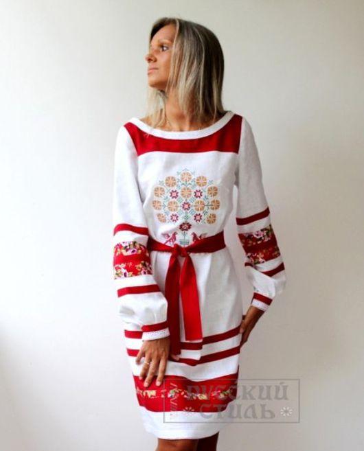 """Платья ручной работы. Ярмарка Мастеров - ручная работа. Купить Платье """"Леля"""". Handmade. Белый, платье по колено, красивая одежда"""