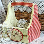 Корзины ручной работы. Ярмарка Мастеров - ручная работа Подставка для яиц, лука, чеснока деревенские Петушки. Handmade.