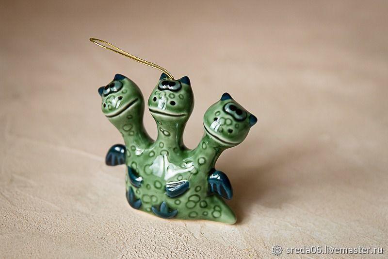 Елочная игрушка - Змей Горыныч, Елочные игрушки, Сергиев Посад,  Фото №1