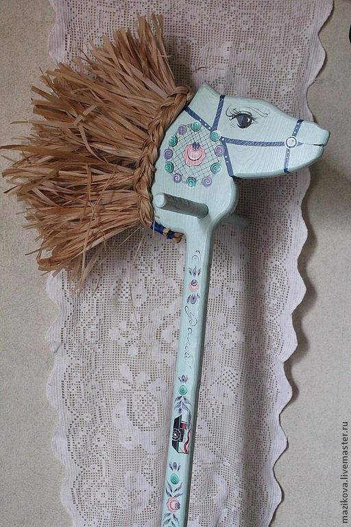 """Игрушки животные, ручной работы. Ярмарка Мастеров - ручная работа. Купить Конь """"Удалой"""" (Кавалеристский). Handmade. Конь, деревянная игрушка"""