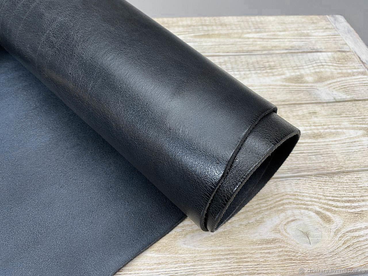 Ременная кожа 3.4-3.6 мм New Palaia Grey Jeans, Кожа, Оренбург,  Фото №1