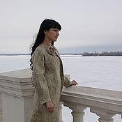 Одежда ручной работы. Ярмарка Мастеров - ручная работа Авторское войлочное пальто- кардиган. Handmade.