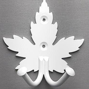 """Мебель ручной работы. Ярмарка Мастеров - ручная работа Крючки двухрожковые для одежды """"КЛЁН"""". Handmade."""