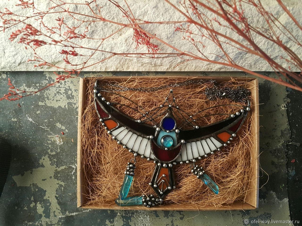 The very First Bird (p-007), Necklace, St. Petersburg,  Фото №1
