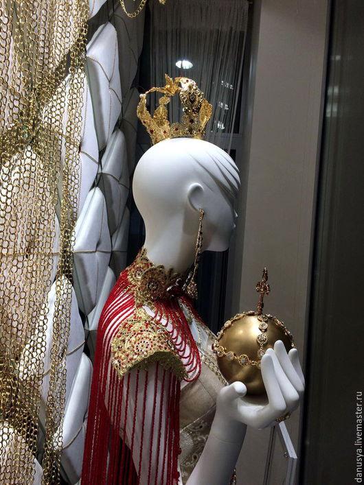 """Диадемы, обручи ручной работы. Ярмарка Мастеров - ручная работа. Купить Корона """"Принцесса Трубодурочка"""" (2). Handmade. Корона, филигрань"""