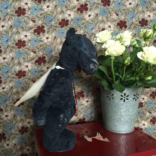 Мишки Тедди ручной работы. Ярмарка Мастеров - ручная работа. Купить Валентин. Handmade. Тедди мишка, винтажный стиль