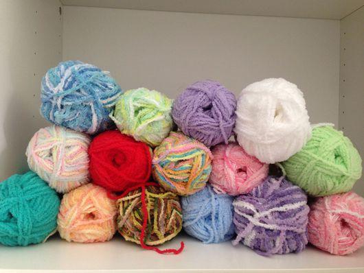 Вязание ручной работы. Ярмарка Мастеров - ручная работа. Купить Alize softy. Handmade. Белый, пряжа в мотках, 100% микрополиэстер