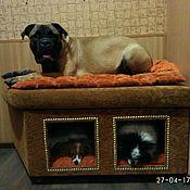 Для домашних животных, ручной работы. Ярмарка Мастеров - ручная работа Интерьерная конура для трех собак. Домик для собак заказать.. Handmade.