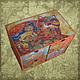 """Мини-комоды ручной работы. Ярмарка Мастеров - ручная работа. Купить Мини-комод """"Оранжевый кот"""". Handmade. Комд"""