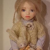 Куклы и игрушки ручной работы. Ярмарка Мастеров - ручная работа В поисках белого кролика.Алиса. Handmade.