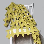 """Для дома и интерьера ручной работы. Ярмарка Мастеров - ручная работа Плед """"Липа"""". Handmade."""