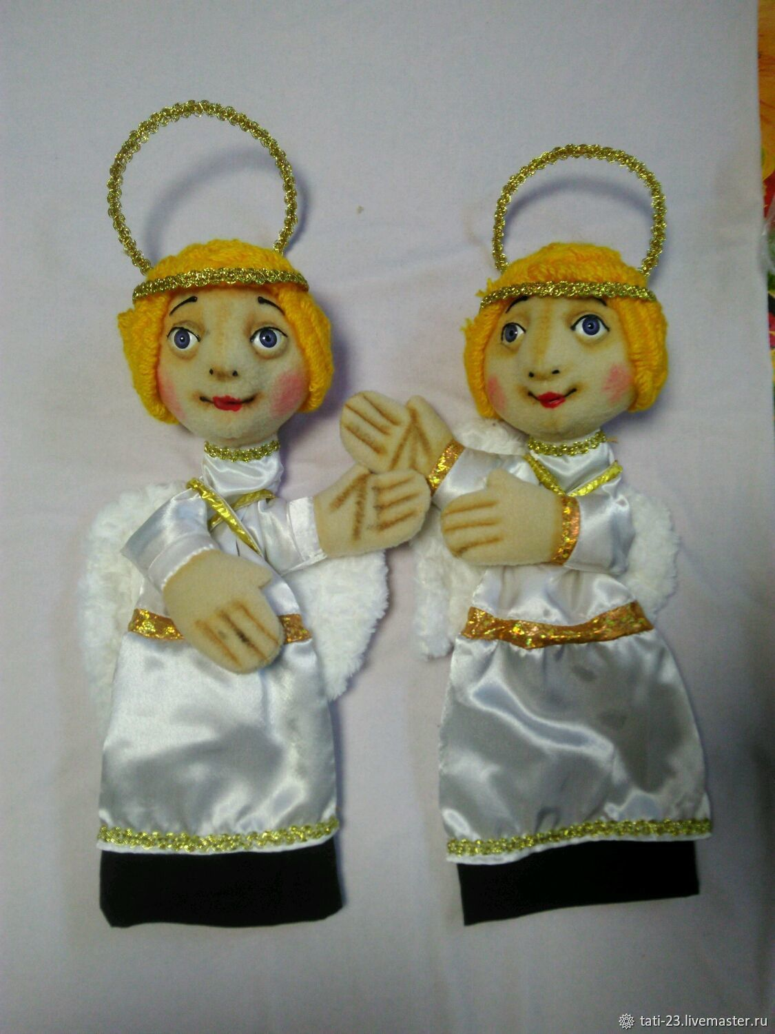 Angels Christmas. The glove theatre-goer-ing doll, Puppet show, Voronezh,  Фото №1