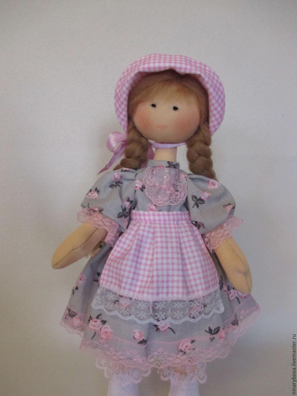 Текстильная куколка Сонечка, Тыквоголовка, Нижний Новгород,  Фото №1
