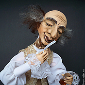 """Куклы и игрушки ручной работы. Ярмарка Мастеров - ручная работа """"ПАРФЮМЕР"""". Handmade."""