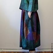 handmade. Livemaster - original item Felted skirt cylinder Kaleidoscope. Handmade.