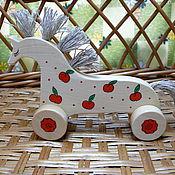 Для дома и интерьера ручной работы. Ярмарка Мастеров - ручная работа Лошадка в яблоках. Handmade.