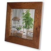 Для дома и интерьера ручной работы. Ярмарка Мастеров - ручная работа Квадратное зеркало. Handmade.