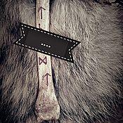 Фен-шуй и эзотерика ручной работы. Ярмарка Мастеров - ручная работа Защитный оберег для дома из кости волка. Handmade.