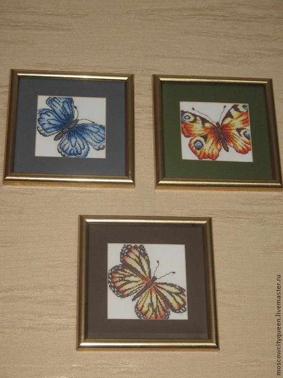 Вышивка крестом бабочка купить