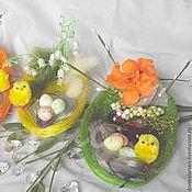 Подарки к праздникам ручной работы. Ярмарка Мастеров - ручная работа Сувенир Уютное гнездышко. Handmade.
