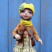 Куклы и пупсы ручной работы. Ярмарка Мастеров - ручная работа Яна-текстильная кукла. Handmade.