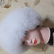 Одежда ручной работы. Ярмарка Мастеров - ручная работа Женская меховая шапка. Handmade.