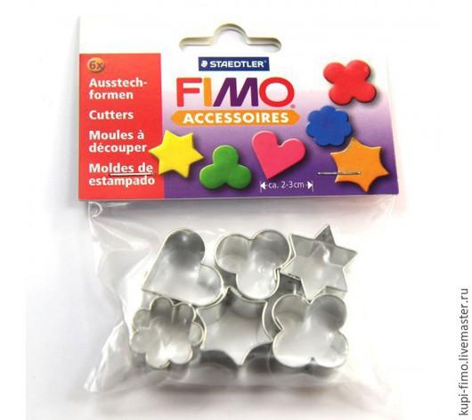 Для украшений ручной работы. Ярмарка Мастеров - ручная работа. Купить Fimo набор каттеров (резаки). Handmade. Серый