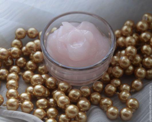 Крем, гель, сыворотка ручной работы. Ярмарка Мастеров - ручная работа. Купить Наногель с Золотом. 30+. Handmade. Розовый
