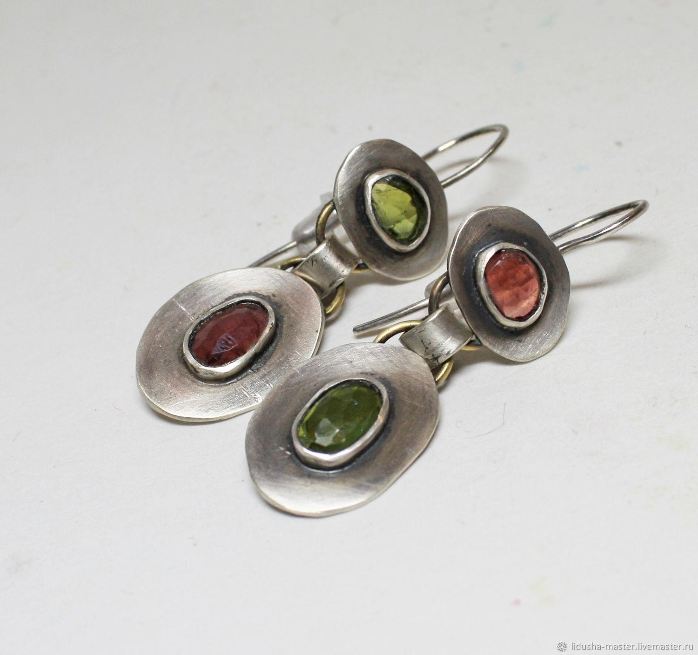 Earrings 'Valencia', Earrings, Nizhny Novgorod,  Фото №1