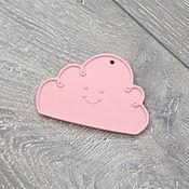 Куклы и игрушки ручной работы. Ярмарка Мастеров - ручная работа Силиконовый грызунок Розовое облачко. Handmade.