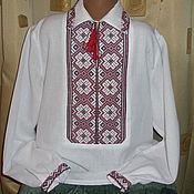 Одежда ручной работы. Ярмарка Мастеров - ручная работа сорочка мужская. Handmade.