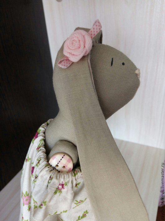 Куклы Тильды ручной работы. Ярмарка Мастеров - ручная работа. Купить Зайка Роузи. Handmade. Заяц игрушка, купить Тильду