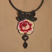 Украшения handmade. Livemaster - original item A rose scent. Handmade.