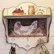 Для дома и интерьера handmade. Livemaster - original item Painting. Shelf-hanger