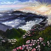 Картины ручной работы. Ярмарка Мастеров - ручная работа Моя весна. 40 на 50 см.. Handmade.